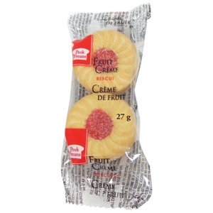 Fruit Creme Cookies (2 / Pack)
