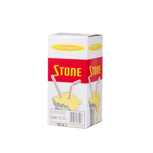"Stone Regular 8"" Straws"