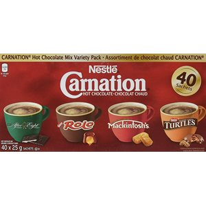 Carnation® Variety Individual Hot Chocolate 29g