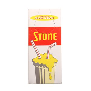 "Stone 8"" Spoon Straws"