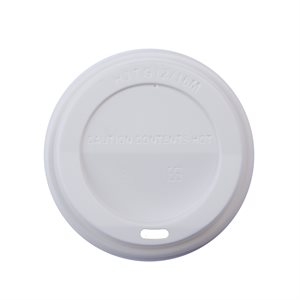 ECO Recylable 10-20oz White Dome Lid