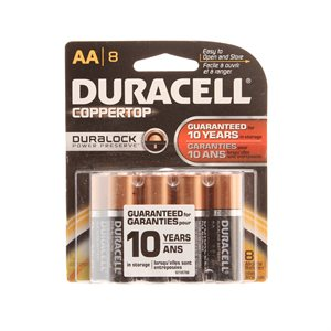 AA Batteries - 8 Pack