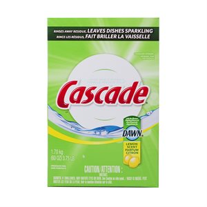 Cascade Lemon Powder Dishwasher Detergent