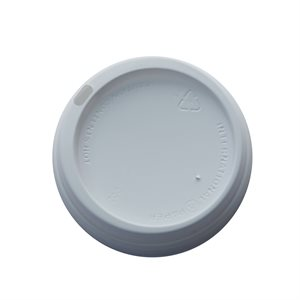 Reunion Island 10-20oz White Dome Lid