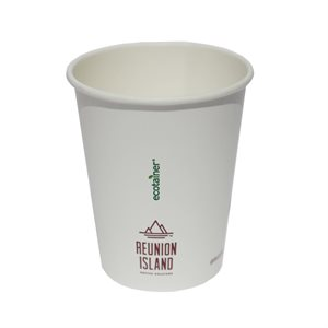 Reunion Island 12oz Hot Paper Cup