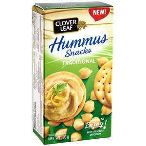 Hummus with Crackers Snack Kit