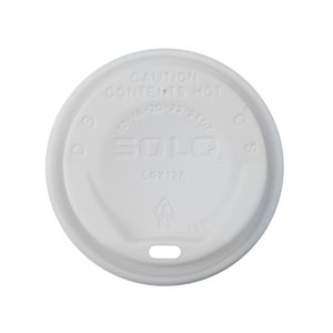Trophy 12-16oz White Dome Lid