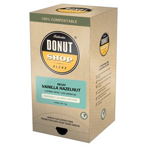 RI Decaf Vanilla Hazelnut Pods 11g - 16CT