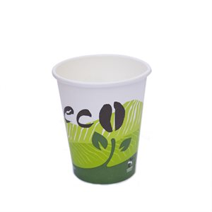ECO Compostable 8oz Hot Paper Cup