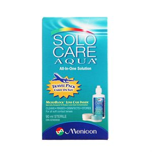 Contact Lens Solution Travel Size