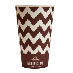 Reunion Island 16oz Hot Paper Cup