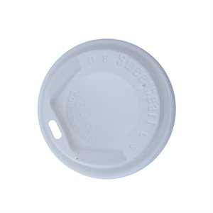Trophy 8oz White Dome Lid